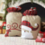 New Product Jute Cloth Stitching Embroidery Personalised Custom Santa Sack
