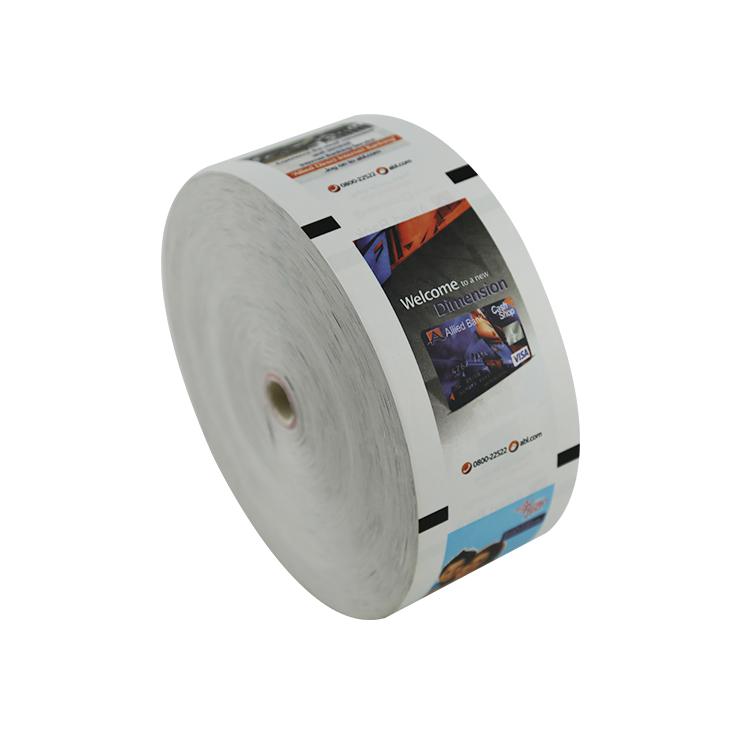 Thermopapier 80x150 atm Rolle in Bank atm Maschine nach Maß