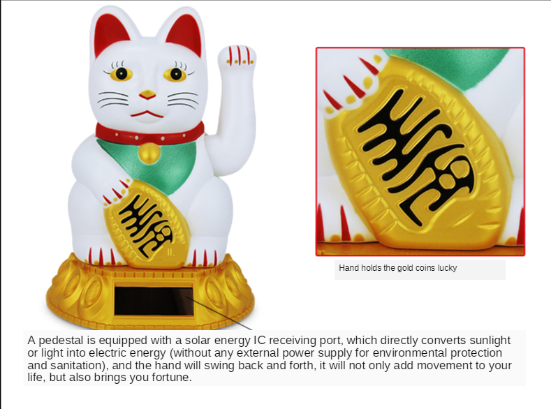Factory direct chinese lucky cat with wholesale price
