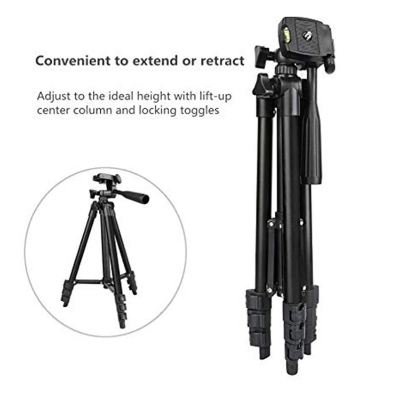 Lighting stand Portable Lightweight Video Photo Smartphone Camera Tripod for DSLR