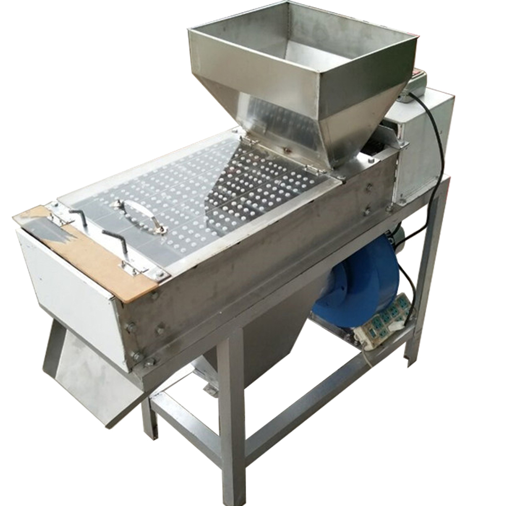 200kg/h roasted groundnut peeling machine