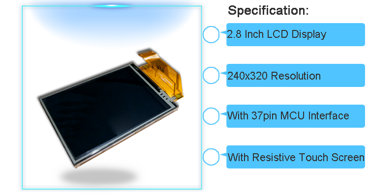 2.8 inch tft lcd touch screen ili9341