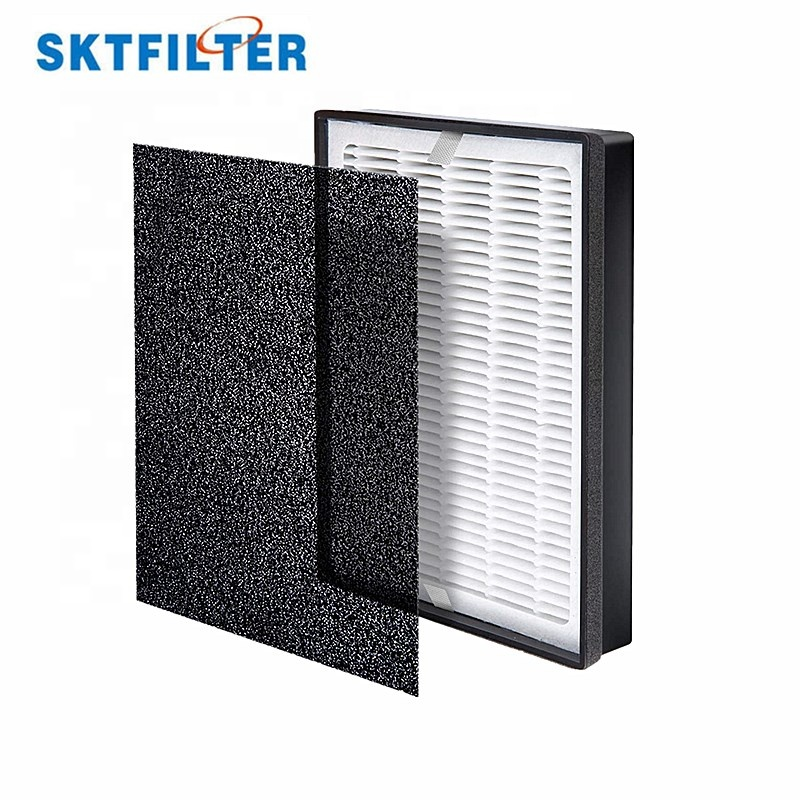 Hepa filter air purifier activated carbon air fan