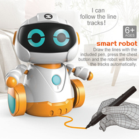 Mini Electric Robot Toys Pen Control Cute Intelligent Smart Toys Robot For Kids