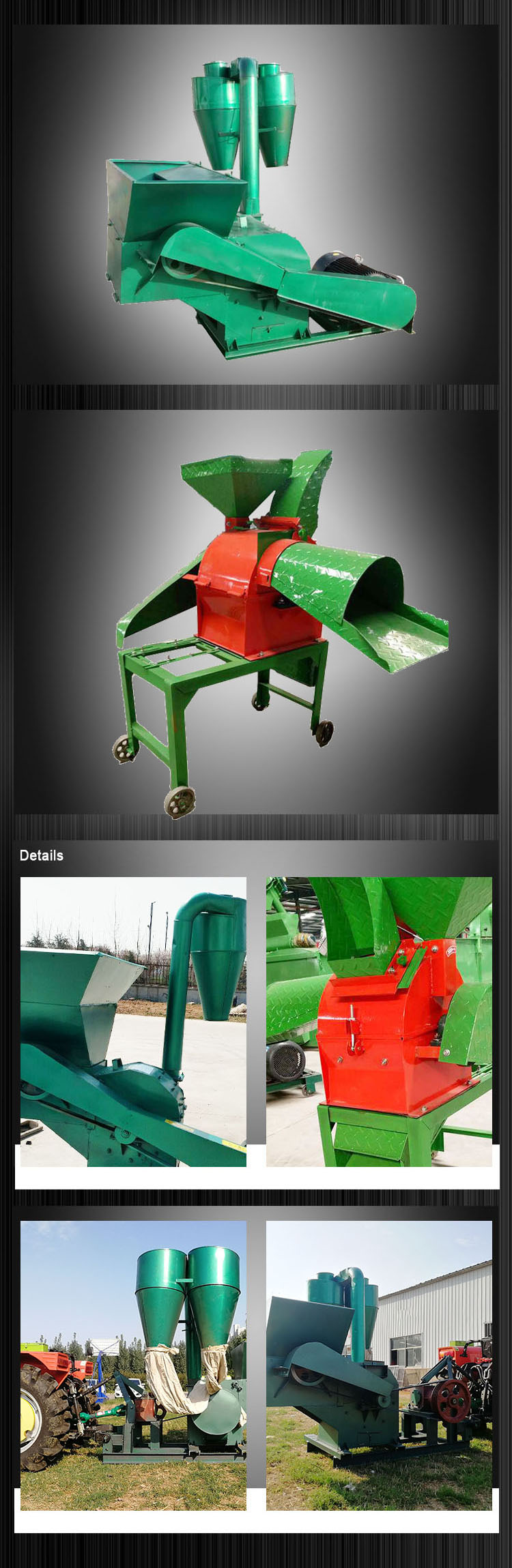 Large Output Automatic Electric Feed Mill Grinder