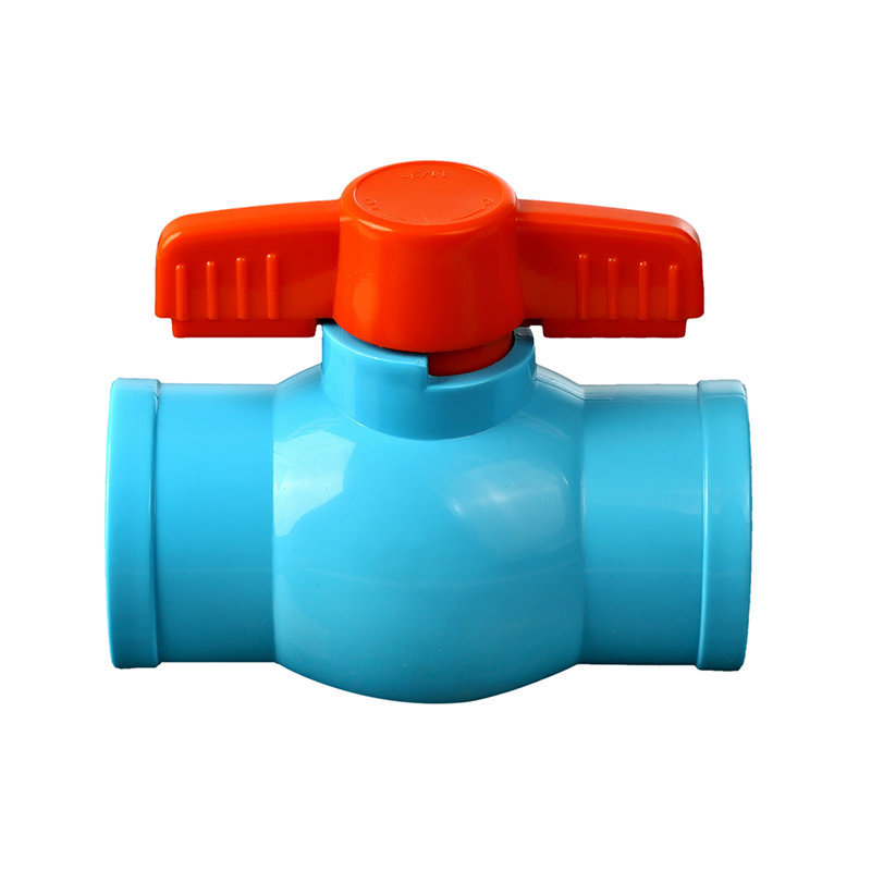 Thailand best quality abs ball and handle pvc agricultural irrigation valve
