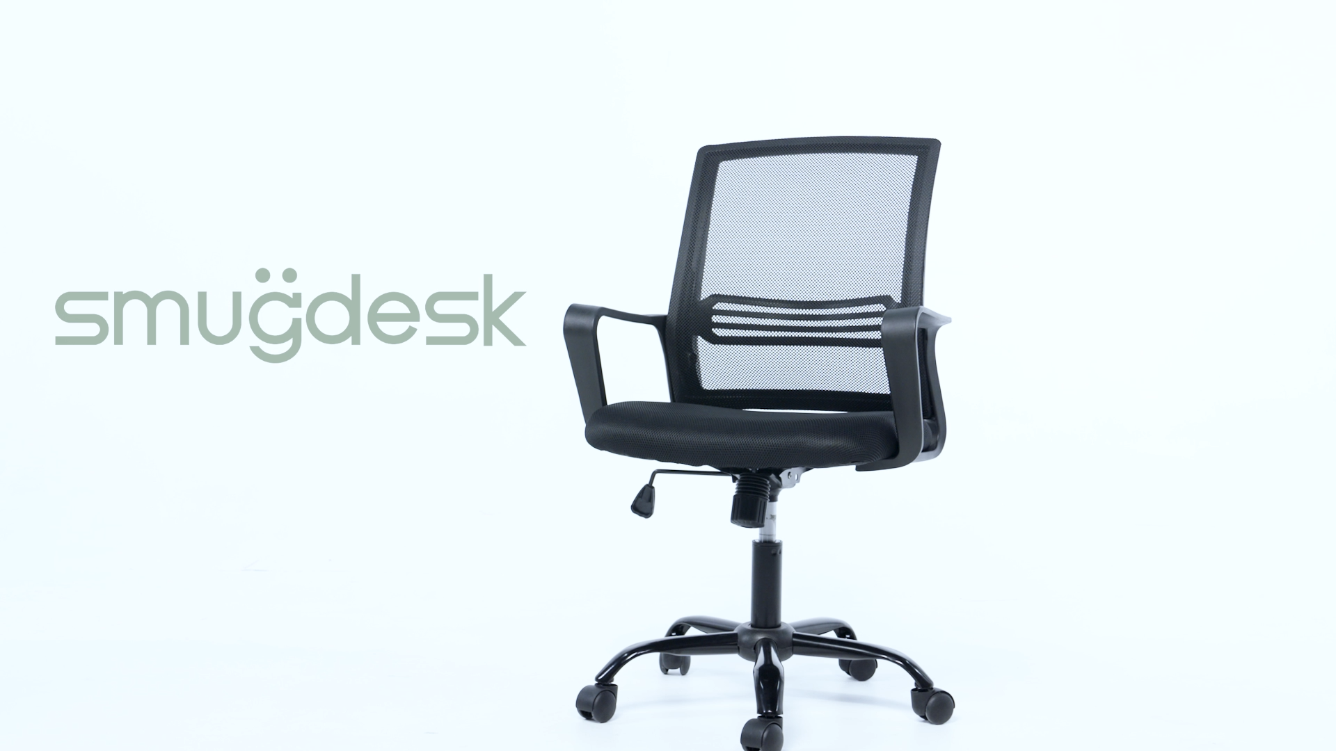 USA STOCK Office Chair, Mid Back Mesh Office Computer Swivel Desk Task Chair, Ergonomic Executive Chair with Armrests