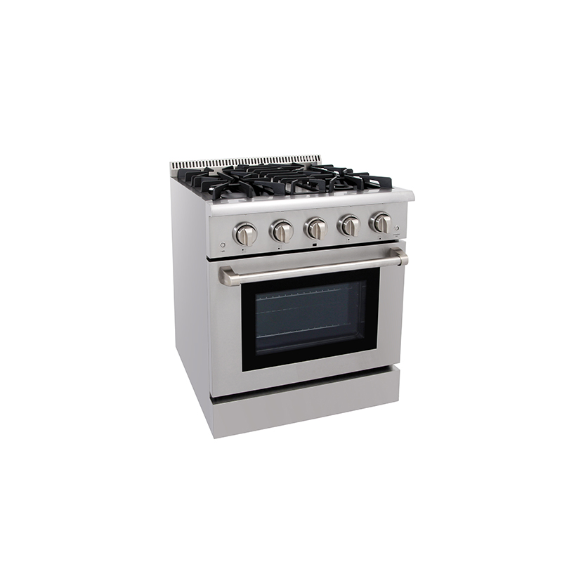 Freestanding 30 Inch Gas Stove 4 Burner