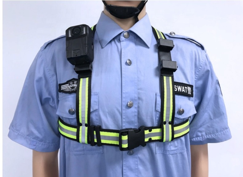 LAWELF shoulder belt for  body worn camera holder belt holder belt retractable camera strap