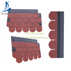 China asphalt roofing shingles fish scale standard tiles for all kinds of sloping roofs high building tops walls wood houses