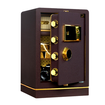 Digital Electronic Safe Box With Solid Steel Construction For Use Middle Size Home And Office E-safe