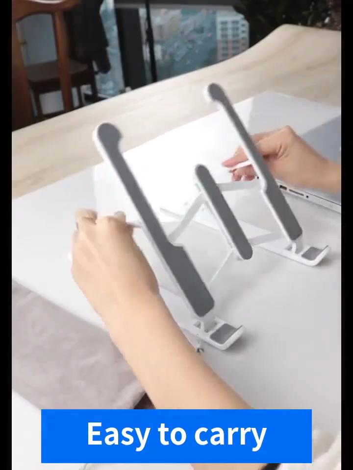Soporte Popular Amazon para Notebook, soporte de aluminio para Notebook, mesa de escritorio para portátil de 11-17 pulgadas