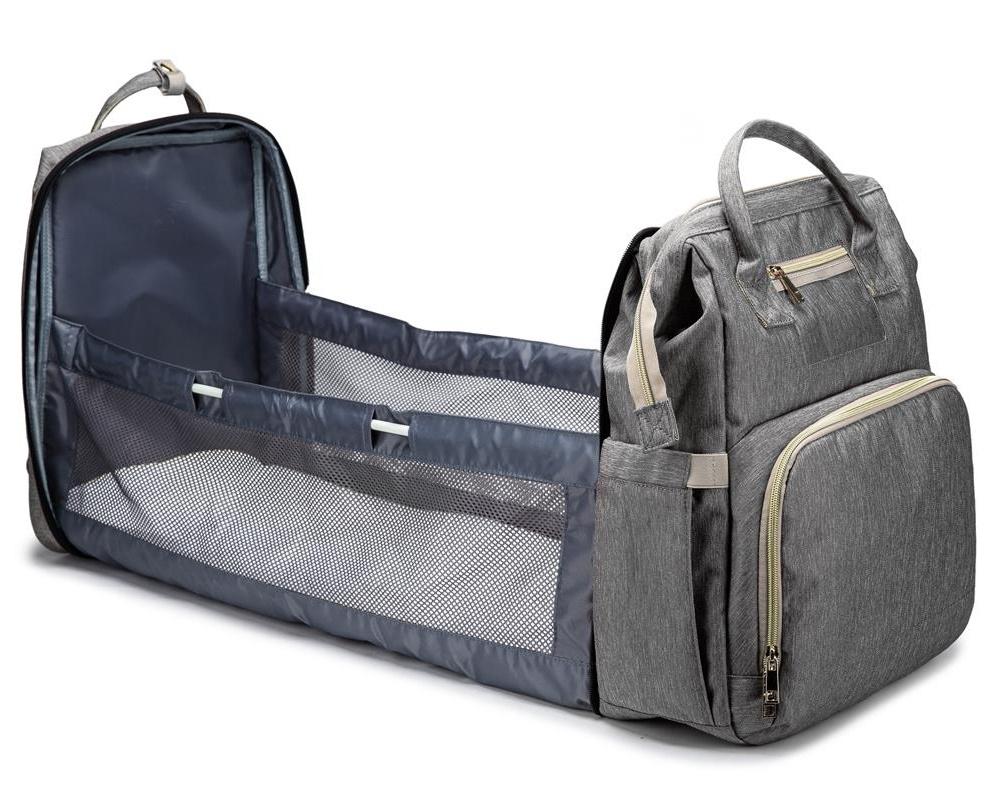 Große kapazität tragbare baby bett mama reise windel tasche baby träger rucksack