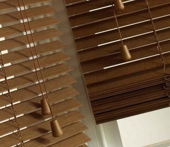 Manufacturing Selling Blackout Window Blinds and Shades Classic Paulownia Venetian Blind