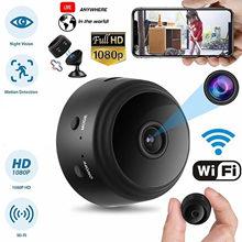 Gosear Мини домашняя камера безопасности A9 1080P HD WiFi IR камера ночного видения 360 градусов кронштейн для телефона ПРИЛОЖЕНИЕ Contron IP камера SQ20(Китай)