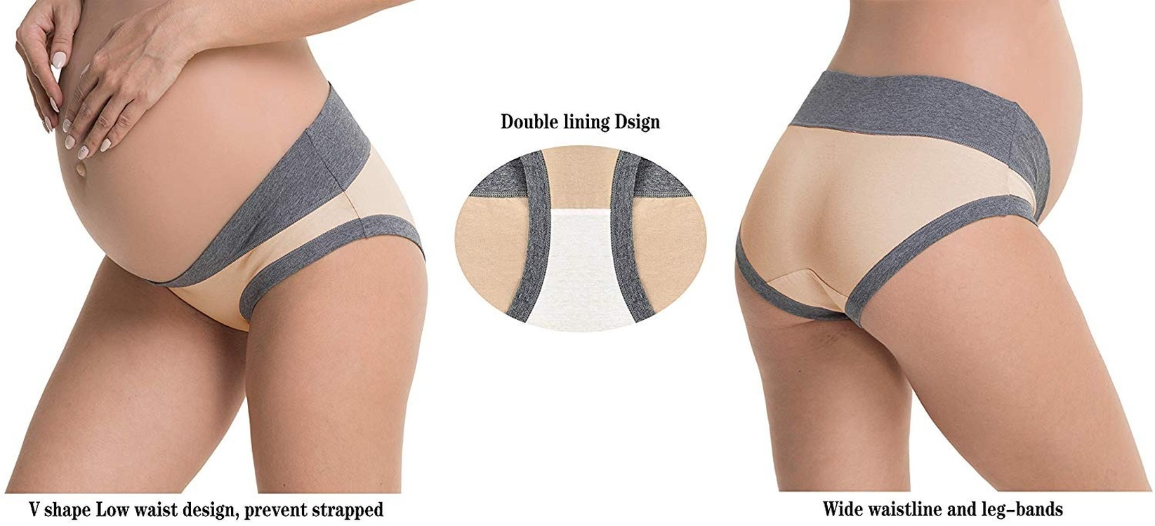 Customized pure cotton underwear pregnant women panties