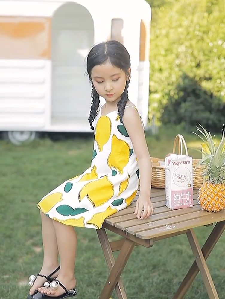 hight quality summer casual girl children clothes dresses