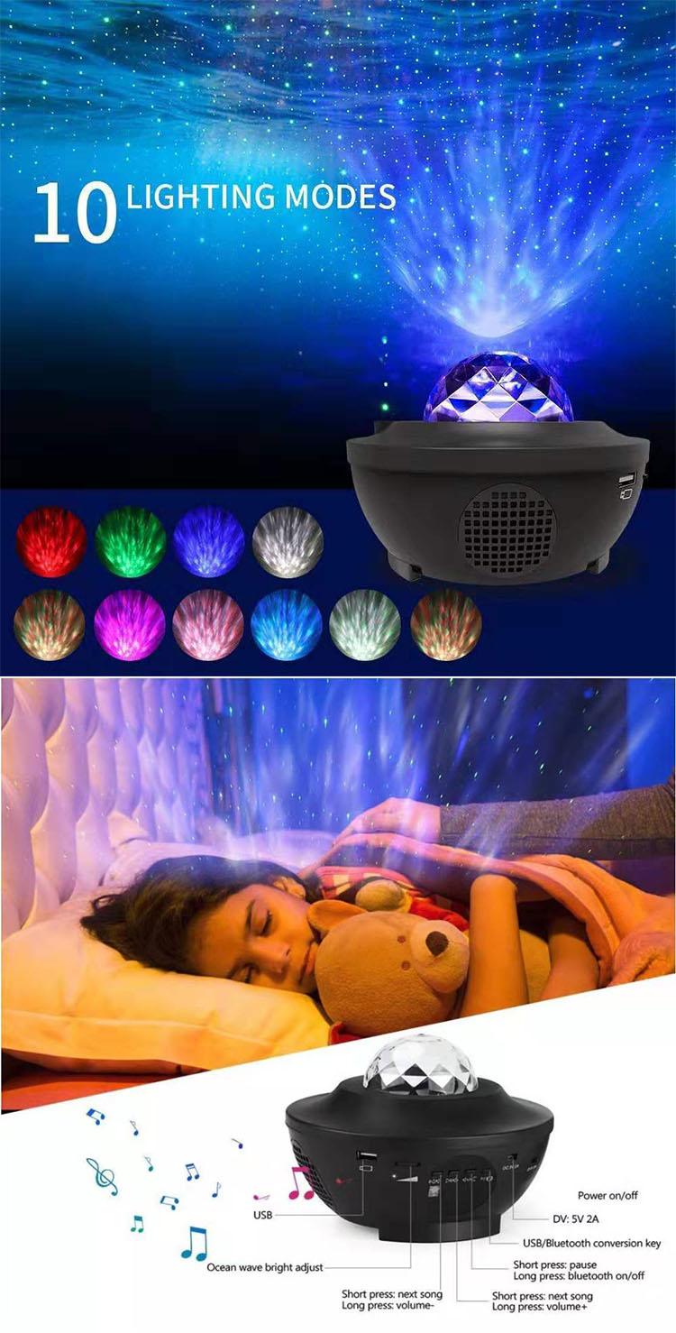 Led Star Projector Night Light home decor indoor Laser Black friday Night Lamp for Kids