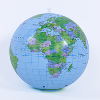 inflatable earth globe beach ball with full color printing