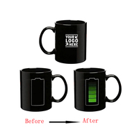 11oz Color Changing Ceramic Mugs