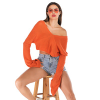 z88660A wholesale clothing women clothes knitted ladies blouses 2019