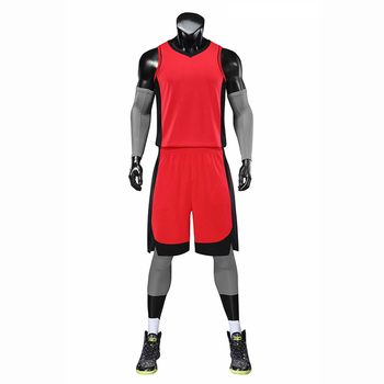 The latest design quick-drying sweat-absorbent basketball uniform