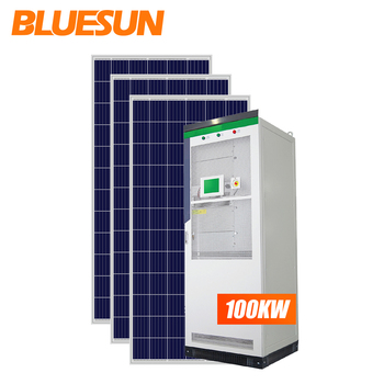 New products industrial solar energy storage system 100kw 200kw 300kw 500kw hybrid energy solar panel system