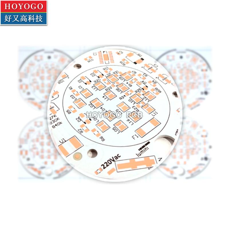 Electronic Manufacture LED ALU Metal base PCB