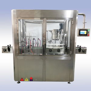 Multihead straight line Filling&Capping machine for syrup, oral liquid, etc