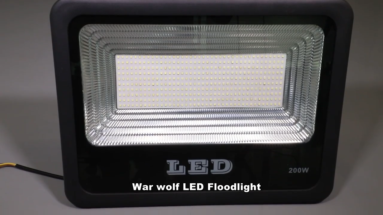 Popular 100w 150w 200w 300w led projector outdoor ip65 slim smd led flood light 200 watt with 3 years warranty