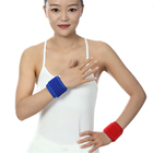 Hot Selling Best Compression Sport Wrist Wraps Strap Band Bowling Gym Elastic Wrist Support Brace