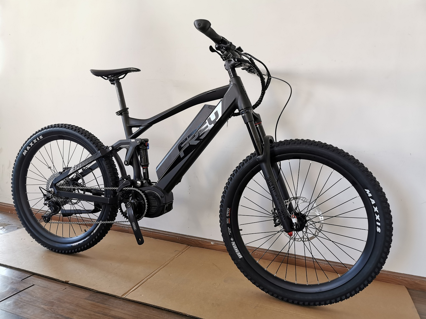 Frey AM1000 5.0 Bafang M620 Full Suspension Elektrische Mountainbike/Emtb G510.1000 Motor.