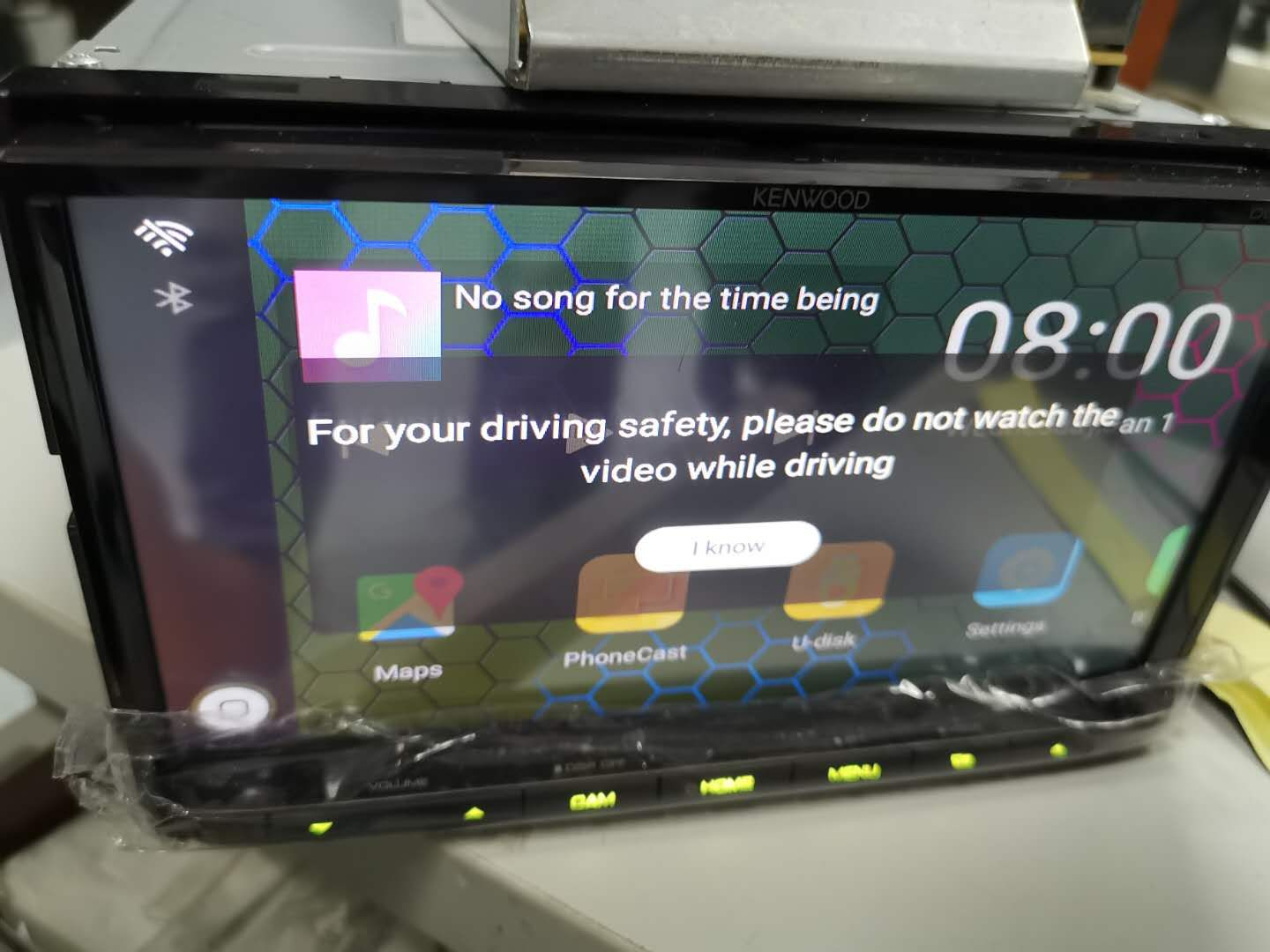 Automotive CarPlay Smart Box For VW Nissan Honda Netflix Google playing