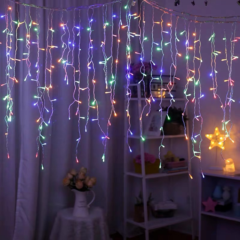 Top Sale Party Home Decoration  Icicle Lights  Christmas Lights Icicle Led