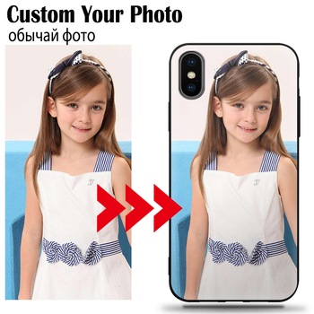 custom cell phone case For iPhone 6 7 8 Plus X 11 Pro XS MAX XR 6S SE 2020 Cover Customized Picture Name Photo