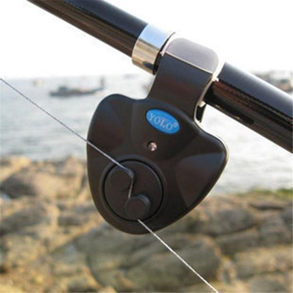 Fischen Bissen Alarm Ring auf Angelruten Glocken Bissanzeiger 10 Stk
