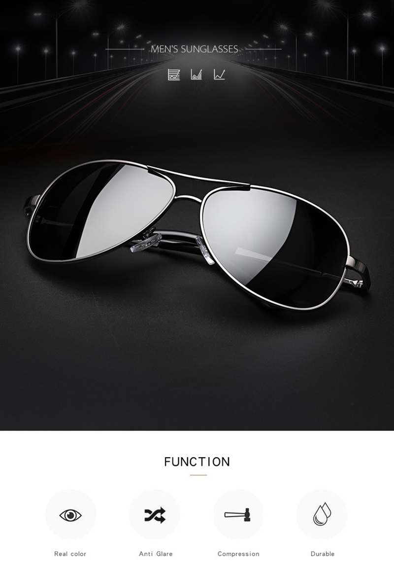 custom black flys sunglasses fashion design for driving-7