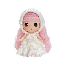 Ddung Reborn Dolls Lol Детская кукла игрушка 18 см/7 дюймов модная Имитация Мягкая кукла детский подарок на день рождения, Рождество> 3 года(Китай)