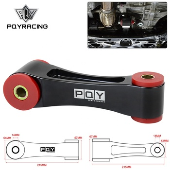 85A Alu & Poly Rear Engine Mount For 2016-2018 Honda Civic 1.5T SI Type-R FC/FK8 AT/MT With PQY logo PQY-TSB07