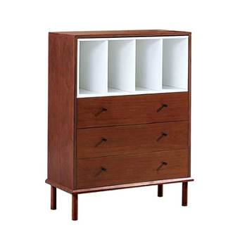 Contemporary dinning room cabinet classic walnut vintage high end sideboard cabinet