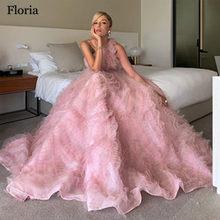 Женское вечернее платье знаменитости, розовое платье на одно плечо, вечерние платья в турецком стиле для выпускного вечера(Китай)