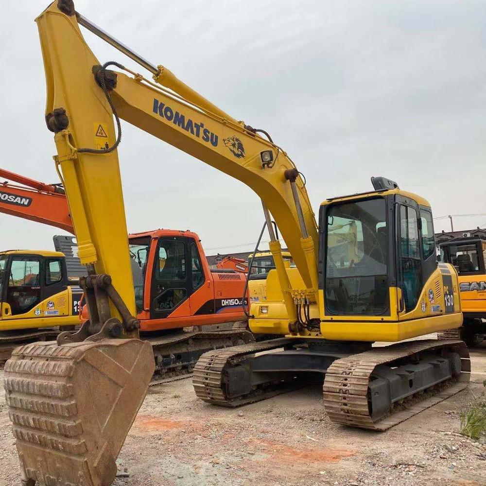 Used Komatsu Excavator PC130-7 made in Japan Construction Equipment PC130-7/PC200 in competitive price