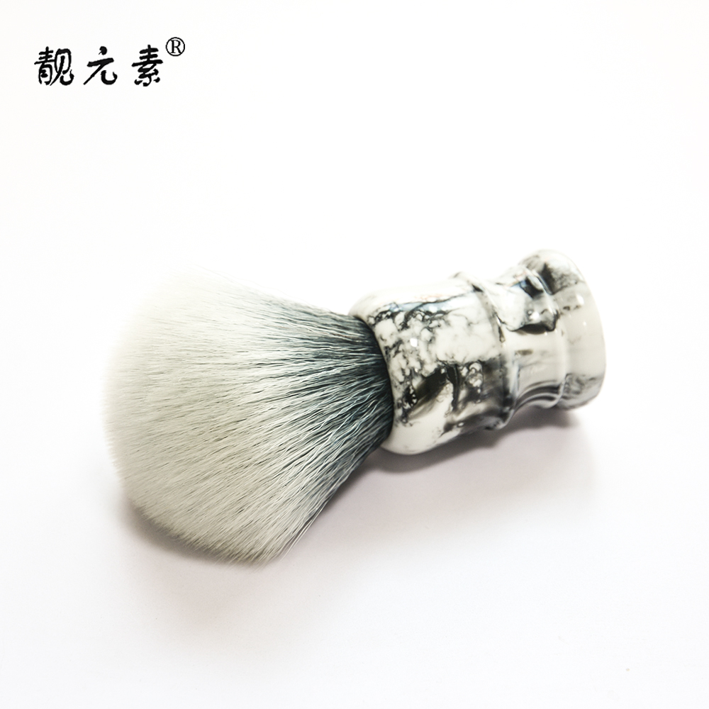 High Quality Good Backbone Soft Badger 3-Band Silvertip Badger Hair Shaving Brush Knot