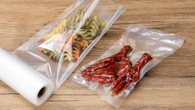 8x10inch Ready-To-Use Pre-Cut Vacuum Sealer Bags 100pcs/Pack Heat-Seal Bags Work With Vacuum Sealer And Sous Vide