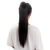 claw clip 21 Inch Woman Synthetic Hair Ponytail Long Black Thick Braided Hair Extension