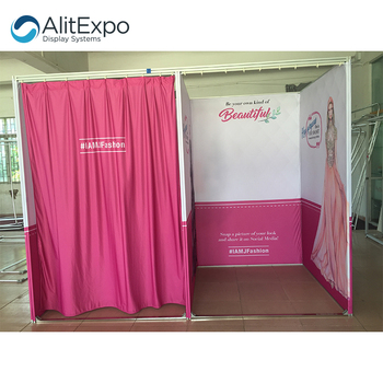 Custom Foldable Pop Up Portable Changing Room Fitting Room For Sale