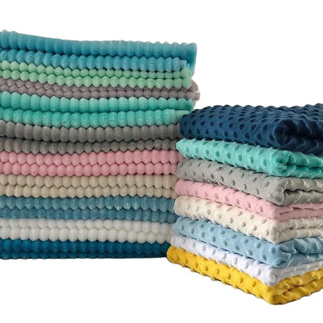 Minky Fabric,2 Yards, Customized color