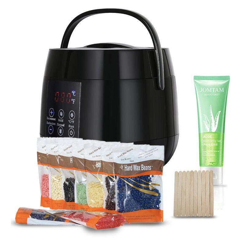 Hot Selling 500ml Smart Wax Heater Wax Warmer Hair Removal Kit