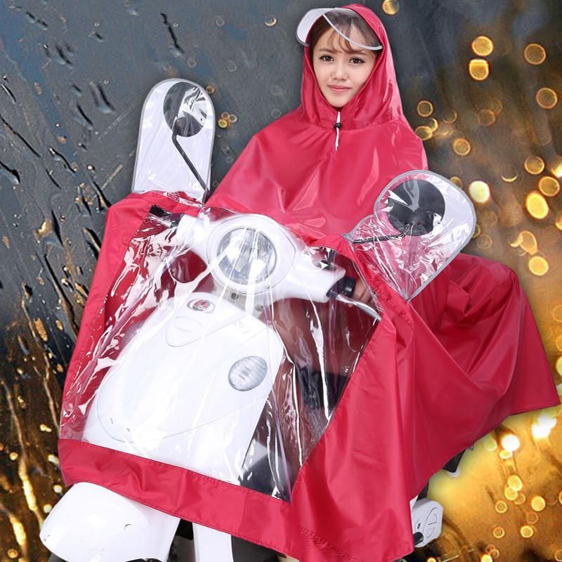 Großhandel Motorrad PVC Polyester Lange poncho regen mantel mit kappe