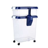 PP Plastic Pet Food Container for Dog and Cat